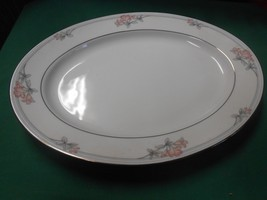 "Beautiful Legendary By Noritake ""Tarkington"" China Large Platter - $12.88"