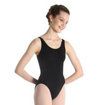 Bloch L5405 Women's Size Medium (8-10) Black Ballerina Tank Leotard - $14.99