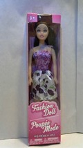FASHION DOLL Toy 11.5 toy dress up girl NEW - $4.94