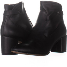 Franco Sarto Newton Side Zip Ankle Boots, Black 671, Black, 7.5 US - $28.79
