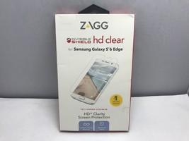 Zagg InvisibleShield HD Screen Protector Galaxy S6 Edge G6EHWS-F00 Clear - $7.67