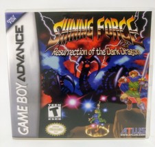 Shining Force Resurrection of the Dark Dragon GBA Replacement CASE (*NO ... - $5.94