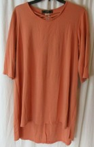 L&B Lucky & Blessed 3/4 Sleeve With Criss Cross Neckline Size Medium - $24.74
