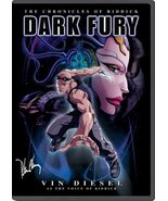 Dark Fury - The Chronicles of Riddick (Animated) [DVD] [2004] - $9.95