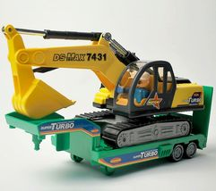 Daesung Toys Melody Shovel Trailer Truck Forklift Car Vehicle Construction Toy image 7