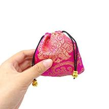 Honbay 16PCS Silk Brocade Drawstring Jewelry Pouches Coin Purses Gift Bags image 3