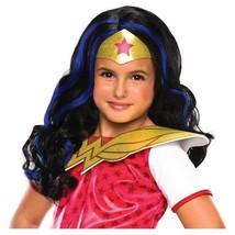 Dc Superhero Girls Wonder Woman Child Wig White One Size - £3.58 GBP