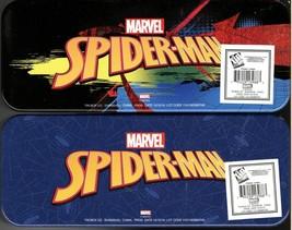 Marvel Spider-Man - Metal Tin Case Pencil Box Storage (Set of 2) - $17.81