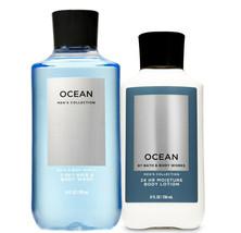Bath & Body Works Ocean For Men Body Lotion & 2-in-1 Hair + Body Wash Duo Set - $32.95
