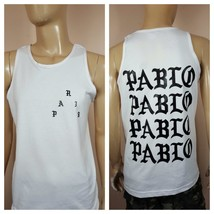 Pablo Paris White Tank Top Kanye I Feel Like Pablo  Mens AAA  Big Sean Jay Z Yee - $17.99+