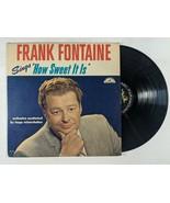 "Frank Fontaine ""How Sweet It Is"" LP Vinyl ABC Paramount Records 1963 Pop... - $12.55"