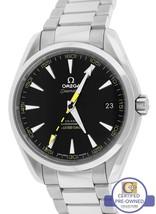 Omega Seamaster Aqua Terra 15,000 Gauss 41.5mm Black 231.10.42.21.01.002... - $3,893.83