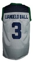 Liangelo Ball #3 Chino Hills Huskies Basketball Jersey New Sewn Grey Any Size image 2