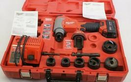 Milwaukee 2676-22 ForceLogic M18 18V Li-ion 10 Ton Knockout Tool Kit 1/2... - $895.00