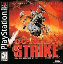 Soviet Strike  (Sony PlayStation, 1996) Free sh... - $11.87