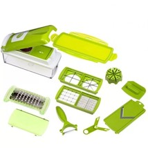 Multi-Functional Grater Vegetable Cutter Sets 12 In 1 Set Stainless Stee... - €29,36 EUR