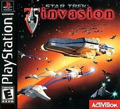 Star Trek: Invasion  (Sony PlayStation 1, 2000) Free ship USA and Canada - $14.88