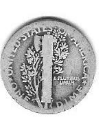 Nice 1918P Mercury Dime