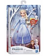 Disney Frozen 2 Singing Elsa Fashion Doll  Blue Dress Hasbro - $69.00