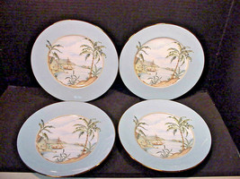 Lenox British Colonial Tradewind Luncheon 9' Plates Made in the USA Set ... - $58.41