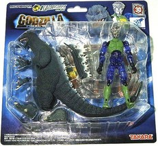 """Microman Chakuguru Microman """"Godzilla 2004"""" Km-02 - $90.68"""