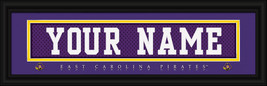 "Personalized East Carolina University ""Pirates"" Stitched Jersey Framed P... - $39.95"