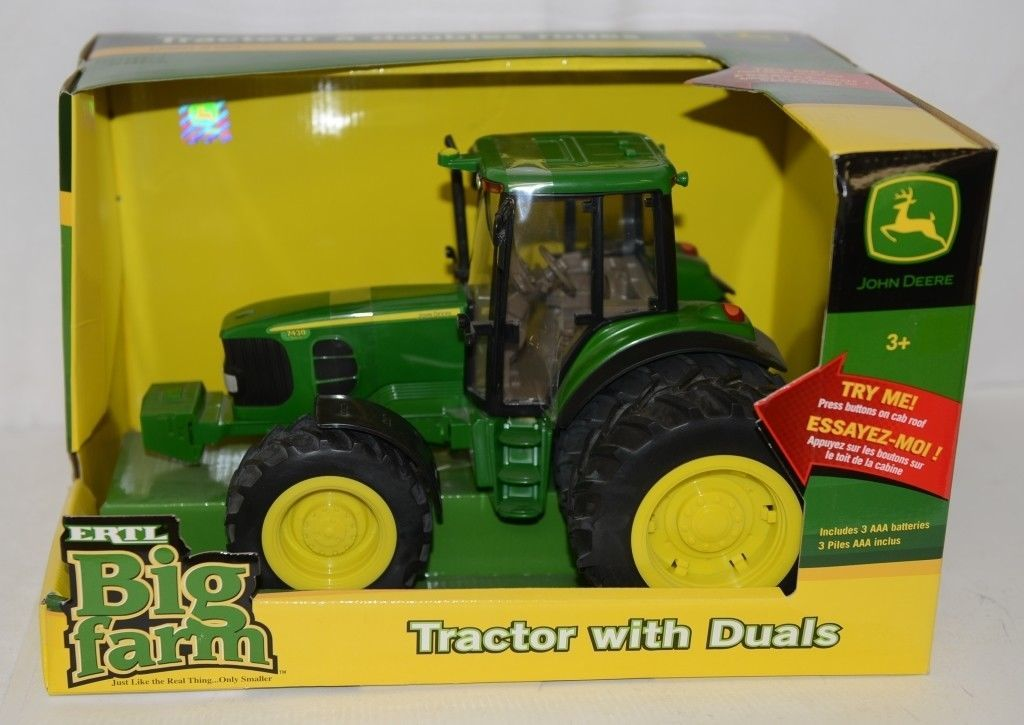 John Deere TBEK35633 Big Farm 7430 Tractor Duals Lights Sounds