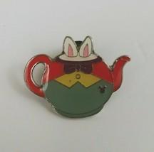 2014 Hidden Mickey 5 o f 5 Alice in Wonderland Tweedle Dee Rabbit Teapot... - $6.79