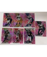 2020 Mosaic Prizm Football Pink John Elway and 6 Other Pinks Drew lock - $16.82