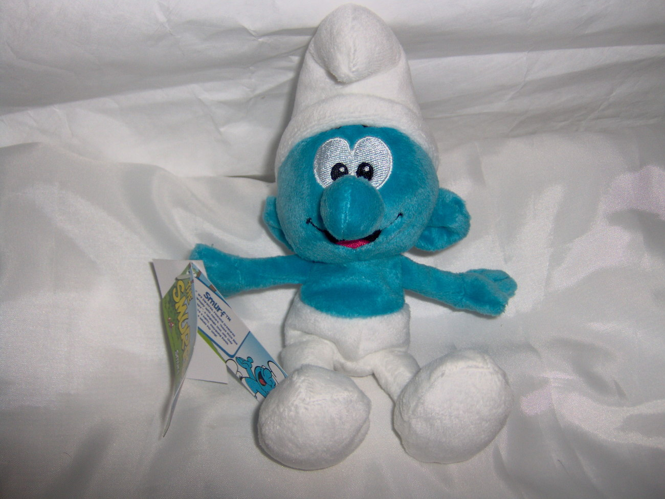 New with Tags - The Smurfs Plush Toy Smurf