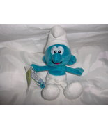 New with Tags - The Smurfs Plush Toy Smurf  - $3.29
