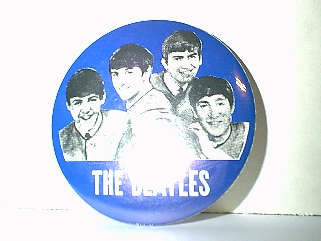 Large Beatles Pin-Back Button