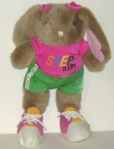 1/2 Price! Step it Up Plush Exercise Rabbit  - $4.00