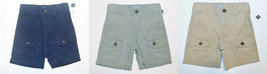 Baby Gap Toddler Boys Cargo Shorts Khaki Green or Blue Sizes 2T, 3T or 4... - $12.99