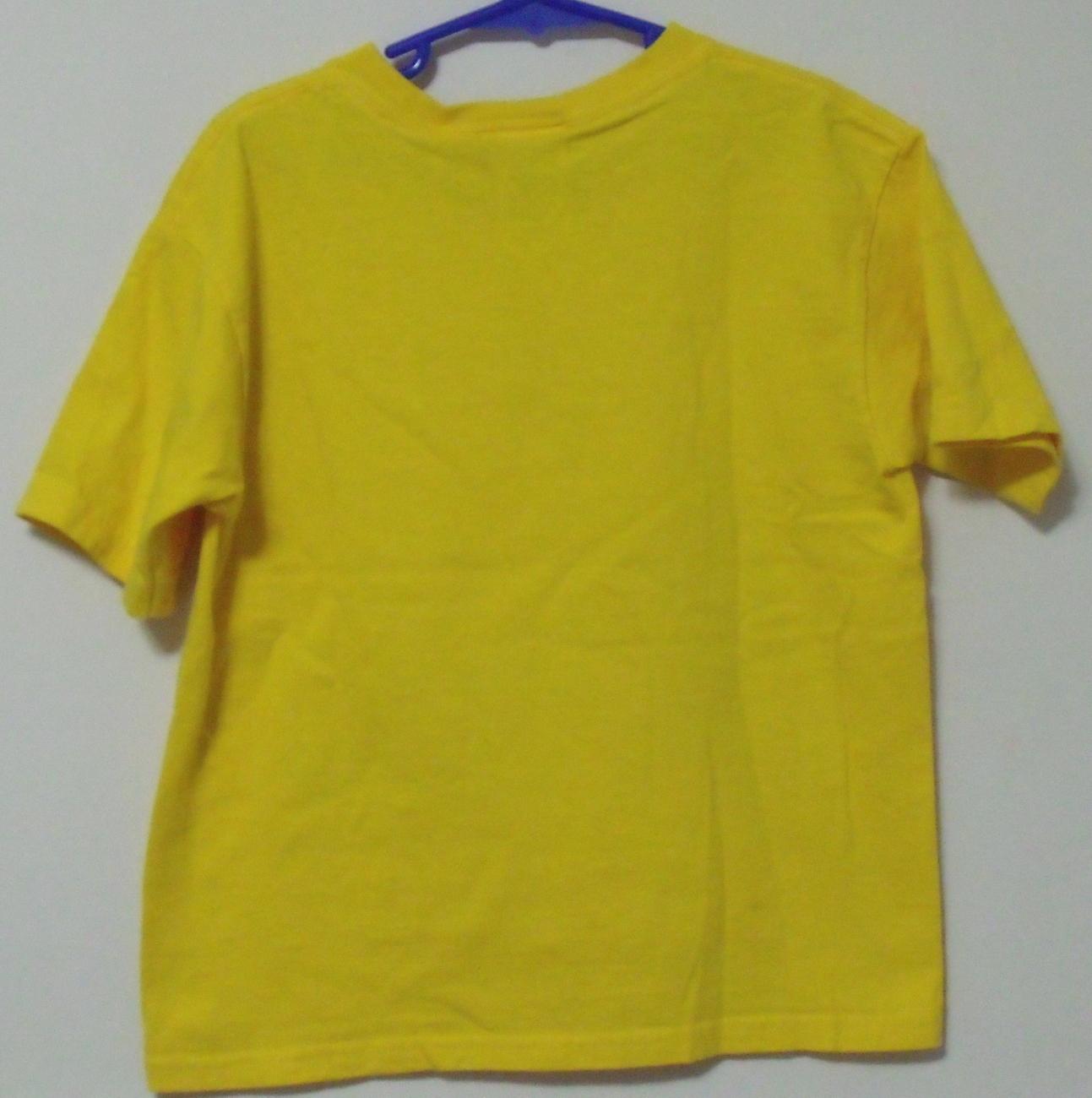 Boys Rudeboyz Yellow T Rex Short Sleeve T Shirt Size 7