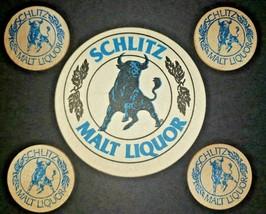 Vintage 1970's Schlitz Malt Liquor Wooden Nickel - Beer Brewery Token Lo... - $10.99