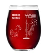 Mom Wine Glass Stemless Cup Funny Gift For Birthday Present Mothers Day ... - $16.99