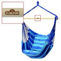 Club Fun Hanging Rope Chair - Blue (Blue) - $44.84