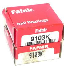 NIB LOT OF 2 FAFNIR 9103K BALL BEARINGS