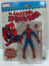 Marvel Legends Vintage Wave Spider-man Pizza Action Figure Retro New - $28.49