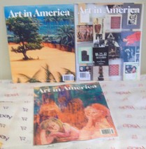 3 ART IN AMERICA Magazine Dec 2017 Jan Feb 2018 Back Issues - $15.99
