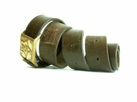 Vintage sergeant commander army leather belt - $18.00