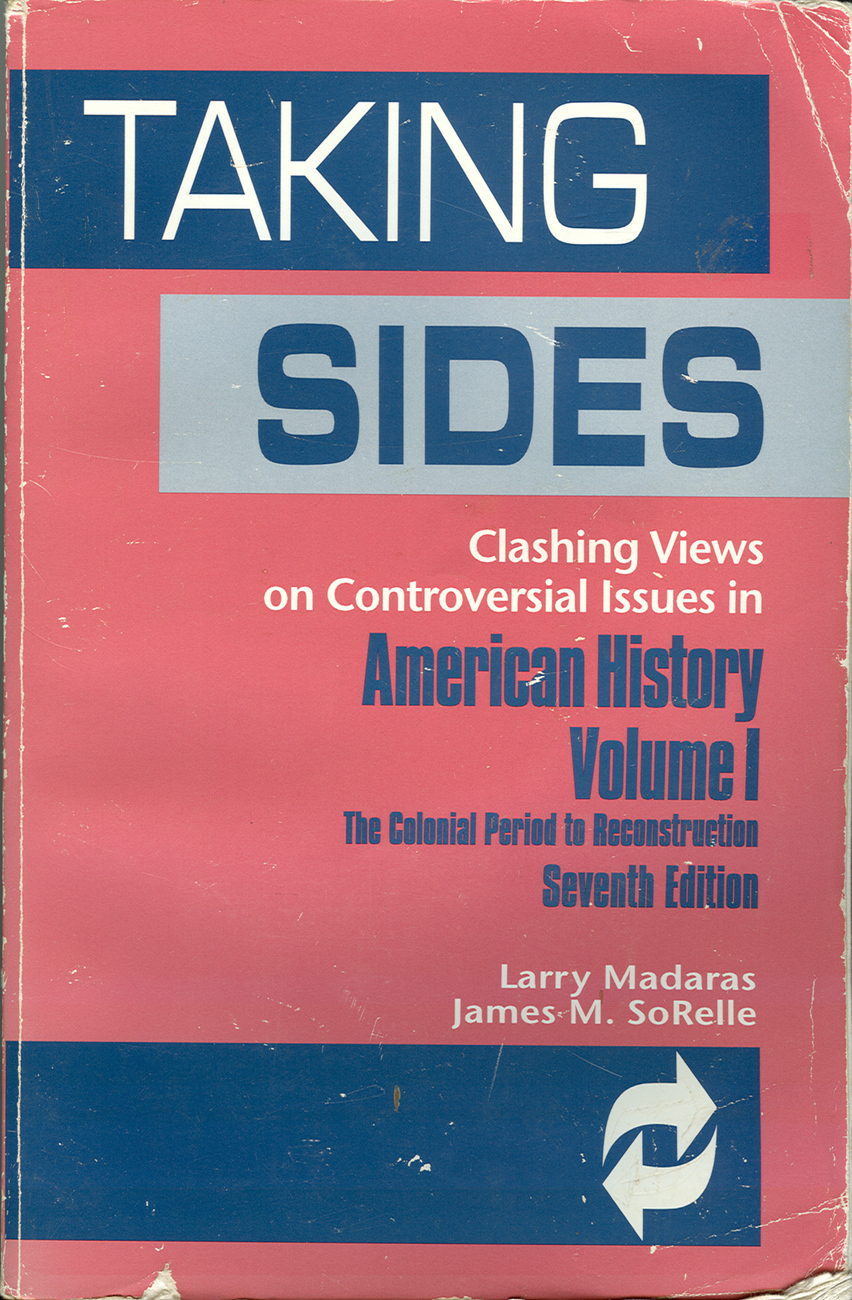 Taking sides american historycolonial period to recons2