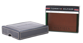 Tommy Hilfiger Men's Leather RFID Fixed Passcase Wallet Billfold 31TL220084 image 3