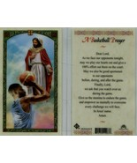 """Basketball Prayer Card """" EB893 Asking players to give 100 % effort on th... - $1.99"""