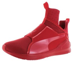 PUMA Men's Fierce Core Mono Ankle-High Leather Fashion Sneaker High Risk... - $77.60
