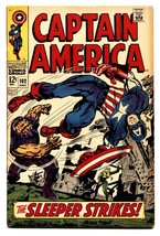 Captain America #102 1968- Marvel Silver Age FN - $47.92