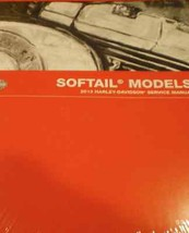 2013 Harley Davidson SOFTAIL MODELS Service Shop Manual Set W Parts & El... - $297.00