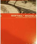 2013 Harley Davidson SOFTAIL MODELS Service Shop Manual Set W Parts & El... - $297.00