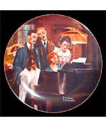 Norman Rockwell collector plate 'Close Harmony' - $29.90